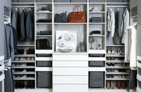 CUSTOMIZE YOUR CLOSET FOR OPTIMAL ORGANIZATION
