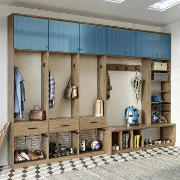 Mudroom California Closets