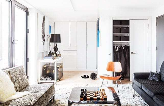 Historial del cliente erin swift california closets for Disenadora de interiores