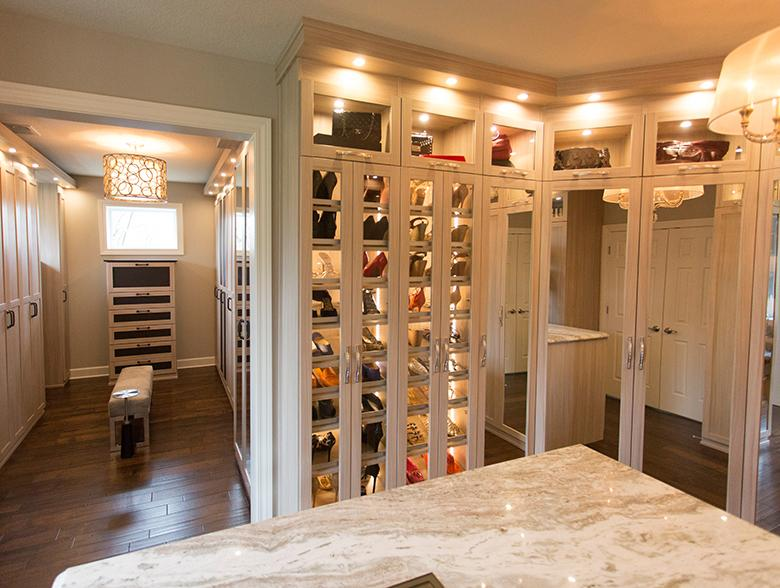 Gorgeous Walk In To Inspire Closet Envy California Closets