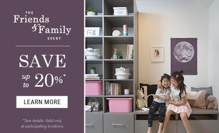 Friends & Family 2018, with financing - 20%